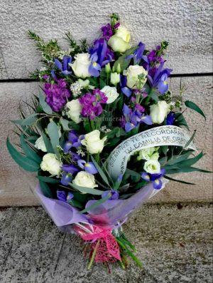 ramo de flores para funeral Lealtad