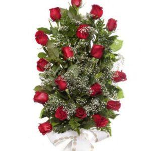 Ramo flores funerario Pasión