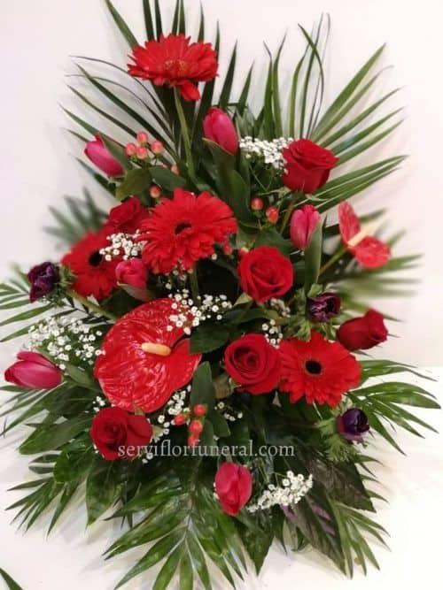 Centro flores funerario Amanecer
