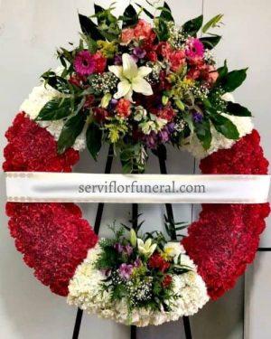 corona funeraria silencio