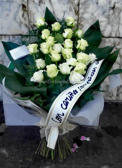 ramo de flores para funeral Palacios