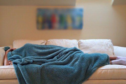 Dormir durante el duelo relax