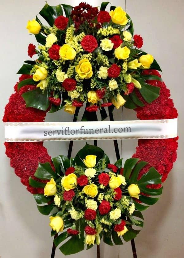 corona funeraria honor