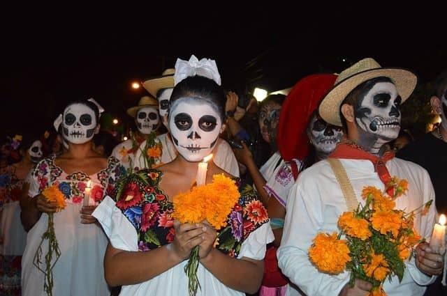 calaveras mexicanas catrina fiesta
