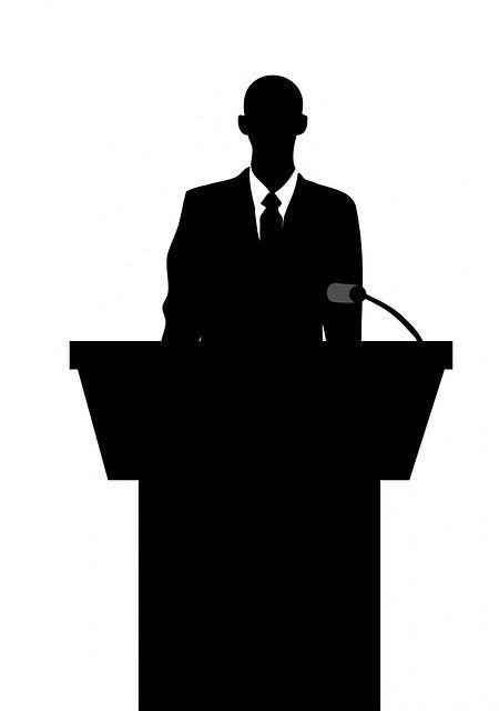 maestro de ceremonia para funeral civil atril