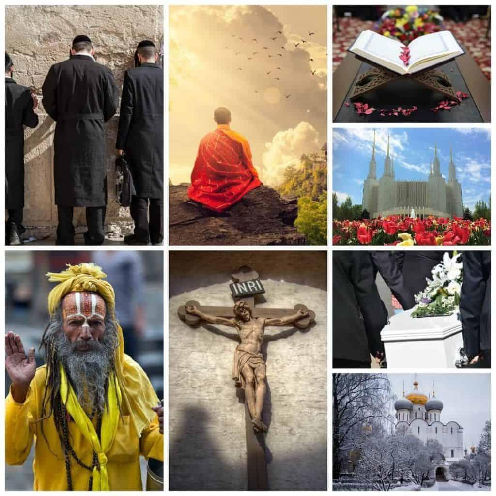 florería funeraria religiones