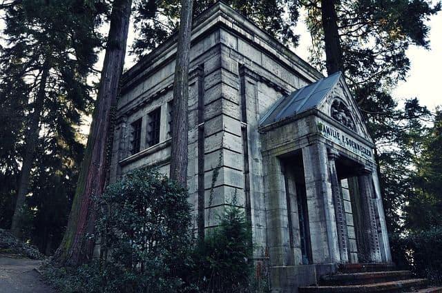 cripta funeraria mausoleo