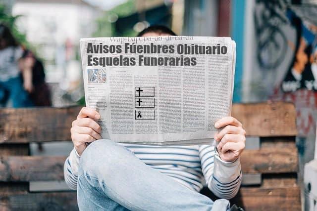 Obituario ¿Qué es un obituario y una esquela? - Floristería