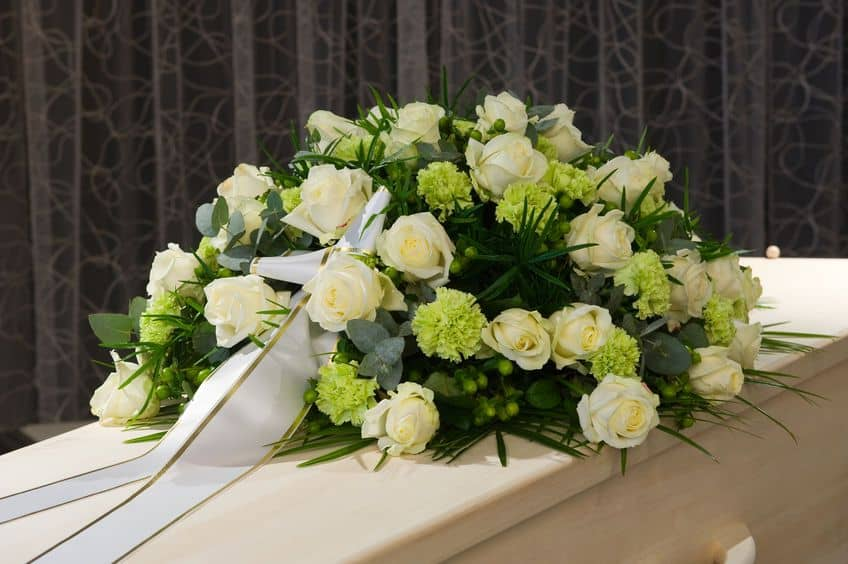 arreglos de flores para funerales