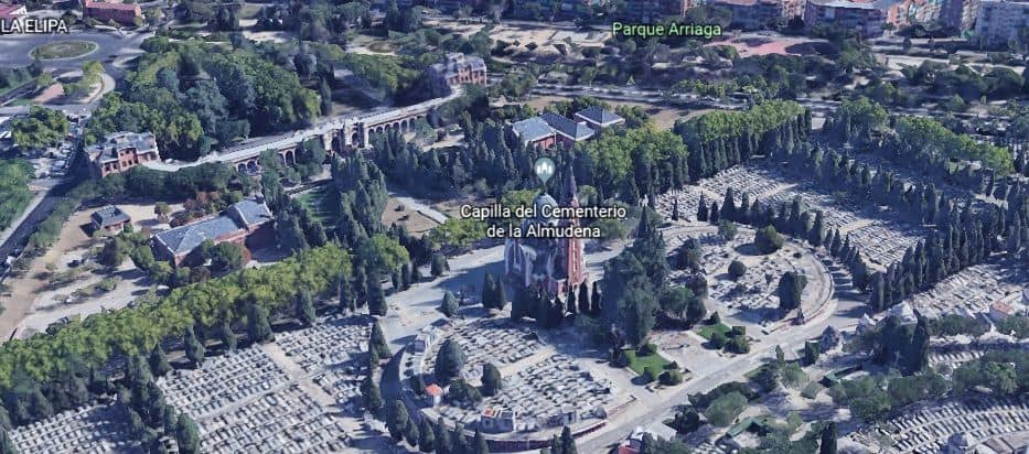 catedral del cementerio de la Almudena