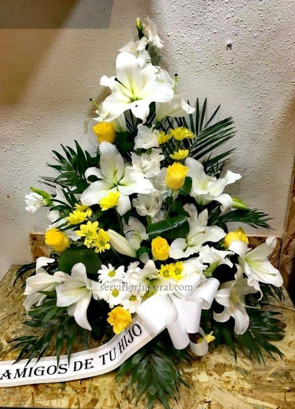 Significado del color en las flores para funerales color amarillo