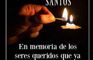 dia de todos los santos 2018 a su memoria