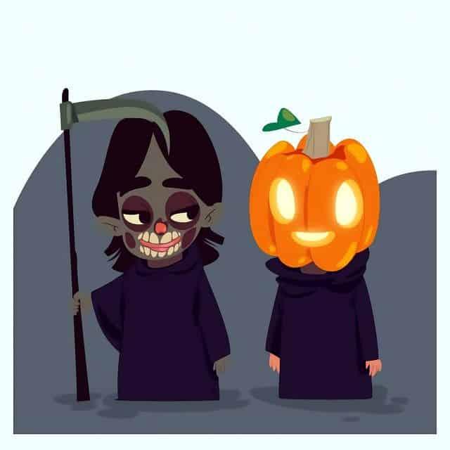 la noche de halloween samain y dia de todos los santos