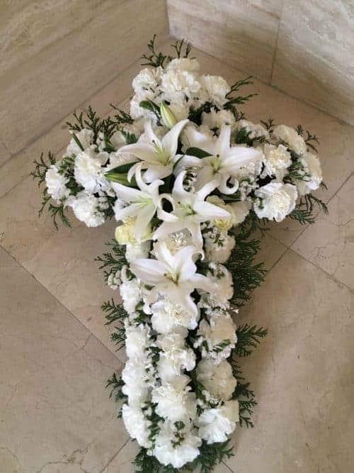 Cruz funeraria armonia