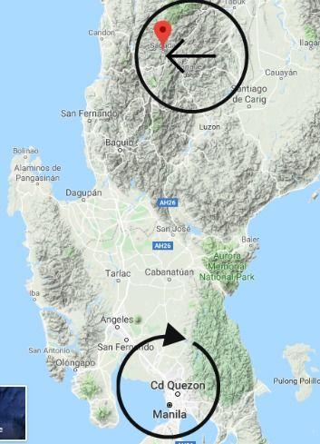 ataúdes colgantes Filipinas