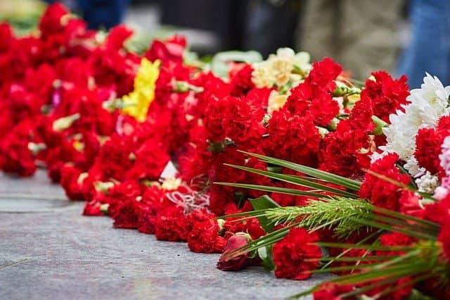 centros de flores para difuntos