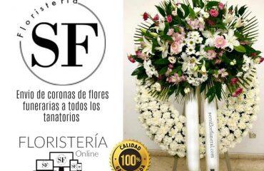 flores para difuntos al tanatorio Málaga