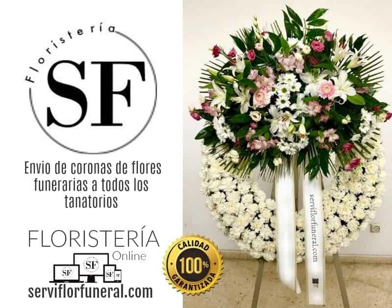 enviar flores funeral tanatorios