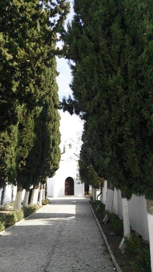 Ermita de San Sebastián cementerio de Casabermeja