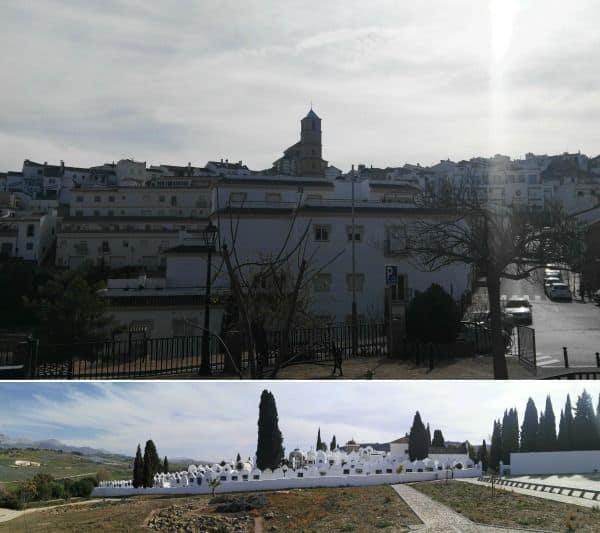 Cementerio de Casabermeja vista panoramica general