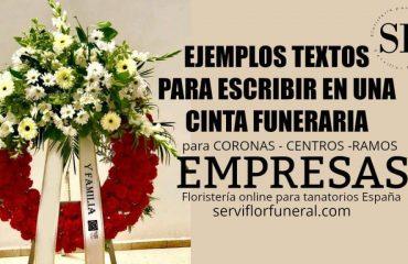 Frases corona de flores para empresas