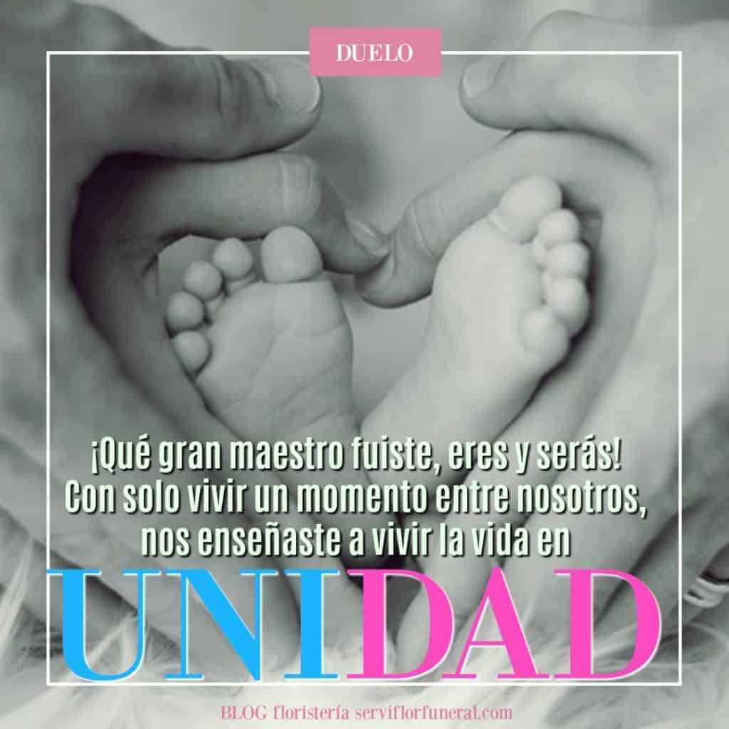 Frases para dedicar a un bebé fallecido
