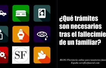 Trámites tras el fallecimiento en España