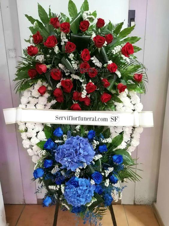 Flores para funeral las Hortensias