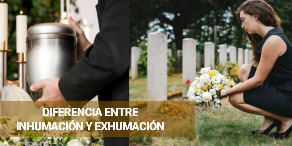 Inhumación y exhumación que es