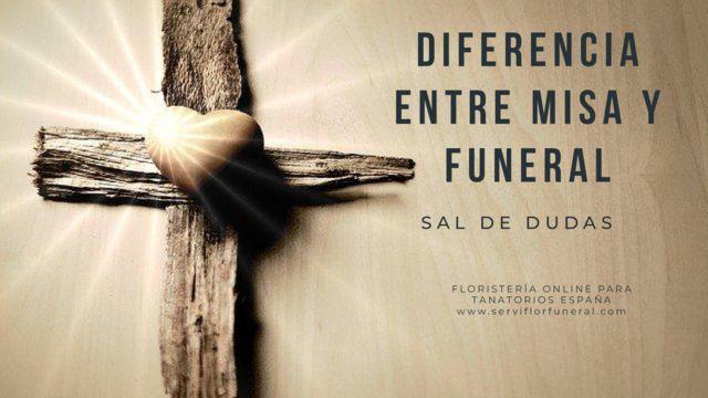 Diferencia entre misa y funeral. Sal dudas y conoce cual es la diferencia entre una misa, un funeral y un entierro.